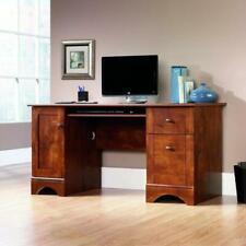 Sauder Computer Desk in Brushed Maple 402375