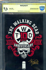 The Walking Dead #1 (2014) Special Anniversary Edition Graded CBCS 9.6
