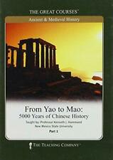 From Yao to Mao, 5000 Years of Chinese History, the Great Courses (DVD) NEW