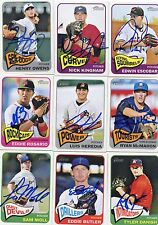 Luis Heredia signed 2014 Topps Heritage Minors Rookie card auto