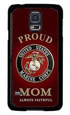 USMC Marine Corps Marines Mom Case for Samsung Galaxy S3 S4 S5 note 2 3 4