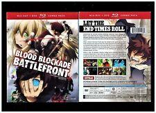 Blood Blockade Battlefront: Complete Series (Brand New 4-Disc Blu-ray/DVD Set)