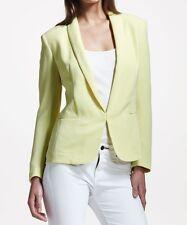 Rag & Bone Sliver Crepe Tuxedo Jacket Blazer Yellow 2 Nwt $495