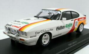 Minichamps 1/18 Diecast 155 828611 Ford Capri 3.0 Gilden Kolsch Nurburbring 1982