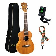 "23"" CONCERT MAHOGANY WOOD UKELELE AQUILA GUITAR 23IN MUSICAL INSTRUMENT"