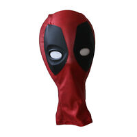 Kids Deadpool Cosplay Costume Mask Halloween Party Accessory