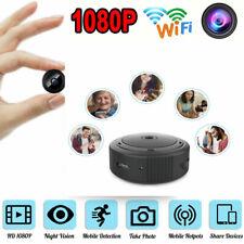 Mini Wifi 1080P HD Caméra IP Sans fil Espion Caméscope Caché Vision Nocturne