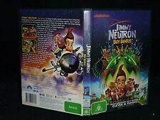 JIMMY NEUTRON BOY GENIUS (DVD, G)