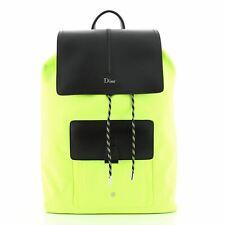 Christian Dior Motion Rucksack Backpack Nylon and Leather Medium