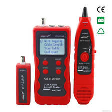 Multipurpose Network Cable Tester/Tracer/Length & ethernet w/ 8-Remotes NF868
