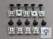 10x Unterfahrschutz Motorschutz Reparatur Kit Clips für Audi A4 A5 A6 A7 Q3 Q5