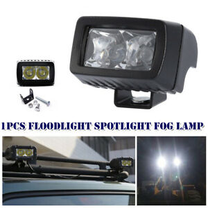 Off Road 6000K 72W LED Work Light Spot Pods Bar Driving Fog Lamp Car Truck Boat