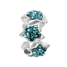 Genuine Lovelinks Silver and Crystal Charm Link 1181636-24 rrp £39.95