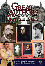 Great Authors of the British Isles - DVD Series - 8 Programs on 4 DVDs