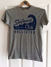 Hollister T-shirt Men's Small Gray Pre-owned in Excellent Condition