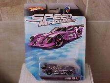 Hot Wheels 2009 Speed Machines Panoz GTR-1 Purple