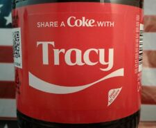 Share A Coke With Tracy 2018 Limited Edition Coca Cola Bottle