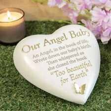 OUR ANGEL BABY MEMORIAL HEART.