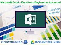 Mi crosoft Excel video courses training lessons, pro tutorial