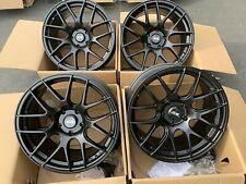18x8.75 XXR 530 5x120 +33 Black Rims Fits BMW E90 E92 AWD (Used Set)