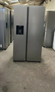 SAMSUNG RS8000 RS68N8320S9/EU American-Style Fridge Freezer -Matte Stainless New