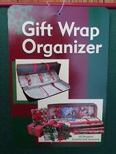 Gift Wrap Storage Paper Organizer Christmas Wrapping Station Bag Gift Birthday