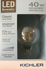 Kichler Decorative Collection 40-Watt Clear G25 LED Bulb w/Standard Base - NEW