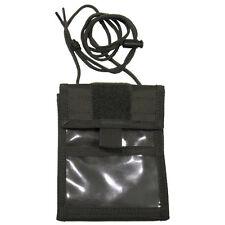 Brustbeutel Brusttasche Umhängebeutel  Geldbörse oliv aufklappbar MFH Outdoor
