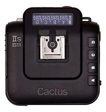 Cactus wireless Flash transmetteur v6 IIS émetteurs radio et récepteur pour sony alpha