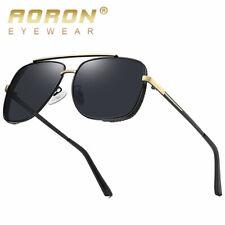 Designer Oversized Polarized Sunglasses MACH Retro Men's Fashion Square Glasses