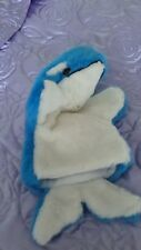 Whale hand puppet new