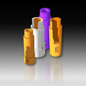 Additional Case Feeding Adapter for Hornady case feeder & Mult-Tube Case Holder
