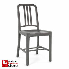 Replica Emeco US Navy Chair (Plastic Version) – Dark Grey
