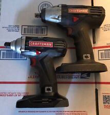 """Craftsman 19.2-Volt 1/4"""" Compact Impact Driver  And 1/2 Impact Wrench"""