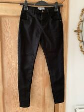 Women's Petite High Waist Super Skinny Black Denim Jeans From New Look  Size 12