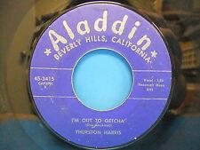 "Thurston Harris Be Baba Leba / I'm Out To Getcha' 1958 7"" Single Aladdin 45 3415"