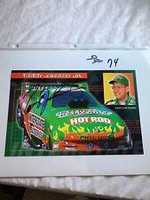 Tommy Johnson Racing Interstate Batteries Firebird Signed NHRA Photo 6 X 9 N 74