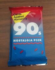 Cards Against Humanity - 90s Nostalgia Pack - New Sealed Expansion Set 30 Cards