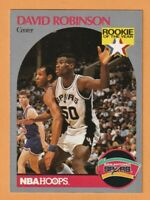 1990-91  NBA Hoops David Robinson Rookie of The Year San Antonio Spurs # 270