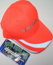Kenworth safety orange headwear hat cap KW trucker dock diesel reflective gear