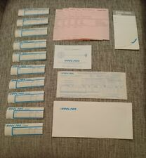 Pan Am Airways Cargo labels memo compliment slip staff free ticket airline plane
