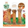 Nylabone Healthy Edibles Dog Chew Treat Bones, Up to 25 lbs, 3 Count