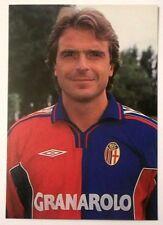 Cartolina Bologna Calcio 2000-01 Giovanni Piacentini