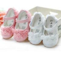 Baby Toddler Girl Crib Beauty Flower Shoes Pram Soft Sole Prewalker Children SG
