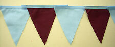 West Ham Fabric bunting 2 mt or more Football christmas Gift Decoration homemade