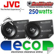 Citroen Saxo JVC 13cm 500 Watts 2 Way Front Door Car Speakers & Sound Deadening
