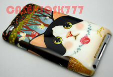 for iPod touch 4th 4 th 4g itouch kitten cat kitty butterfly flowers hard case/