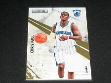 Chris Paul Hornets Certified Authentic Game Used Jersey Basketball Card #266/299
