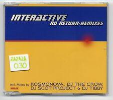 Interactive Maxi-CD NO RETURN Remixes - 4-Track Remix CD-INT 8 84853 2