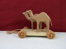 2000 Henn Workshops Camels Pull Toy Noah's Ark Series